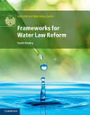 Frameworks for Water Law Reform