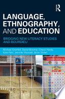 Language  Ethnography  and Education