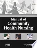 Manual of Community Health Nursing