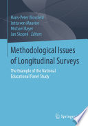 Methodological Issues of Longitudinal Surveys