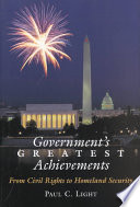Government s Greatest Achievements
