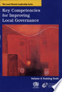 Key Competencies for Improving Local Governance: Training tools