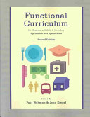 Functional Curriculum for Elementary  Middle  and Secondary Age Students with Special Needs