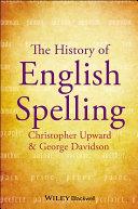 download ebook the history of english spelling pdf epub