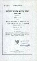 Assessing the new political trends  Dublin  1976