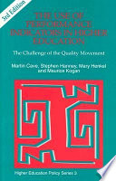 The Use of Performance Indicators in Higher Education: The Challenge of the Quality Movement
