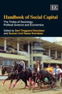 Handbook of Social Capital