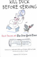Kill Duck Before Serving  Red Faces at The New York Times