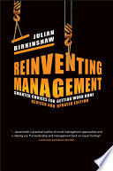 Reinventing Management : of regulation or economic policy; it...