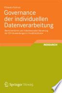 Governance der individuellen Datenverarbeitung