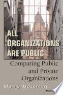 All Organizations Are Public