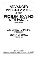 Advanced Programming and Problem Solving with PASCAL