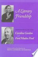 A Literary Friendship