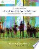 Brooks Cole Empowerment Series  Introduction to Social Work   Social Welfare  Critical Thinking Perspectives