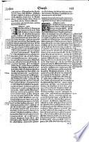 La Saincte Bible en Francoys  translatee selon la pure   entiere traduction de Sainct Hierome  derechief confer  e et enti  rement revisit  e selon les plus anciens   plus correctz exemplaires