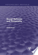 Social Behavior and Personality  Psychology Revivals