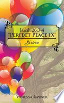 Isaiah 26 3 4  Perfect Peace IX
