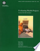 Evaluating Health Projects Swept Through Latin America And The Projected Institutional