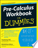 Pre Calculus Workbook For Dummies