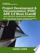 Project Development   Documentation  PDD  ARE 5 0 Mock Exam  Architect Registration Exam