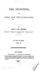 The Incognito  Or  Sins and Peccadillos