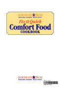 Fix it quick comfort food cookbook