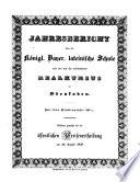 Jahresbericht über die Königl.-Bayer. Lateinische Schule und den mit ihr verbundenen Real-Cursus zu Edenkoben in der Pfalz