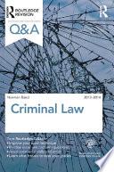 Q A Criminal Law 2013 2014