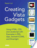 Creating Vista Gadgets