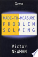 Made to measure Problem solving