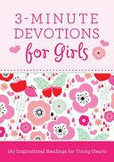 3 Minute Devotions for Girls
