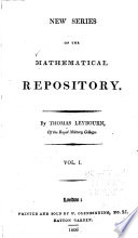 The Mathematical Repository : ...