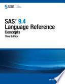 SAS 9 4 Language Reference