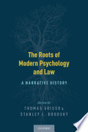 The Roots of Modern Psychology and Law