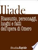 Iliade  Riassunto  personaggi  luoghi e fatti dell opera di Omero