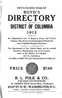 Boyd s Directory of the District of Columbia for