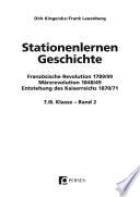 Stationenlernen Geschichte 7./8. Klasse - Band 2