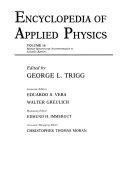 Encyclopedia of Applied Physics  Raman Spectroscopy  Instrumentation to Schottky Barriers