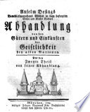 Anselm Desings, Benedictinerordens Abbte in dem befreyten Stifte und Kloster Ensdorf, Abhandlung von den Gütern und Einkünften der Geistlichkeit bey allen Nationen