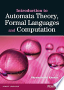 Introduction to Automata Theory  Formal Languages and Computation