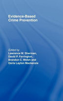 Evidence Based Crime Prevention