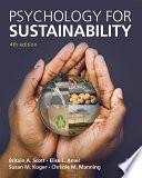 Psychology for Sustainability