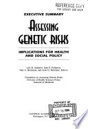 Assessing Genetic Risks