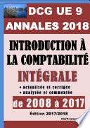 ANNALES 2018 du DCG 9 actualis  es et corrig  es   Introduction    la comptabilit