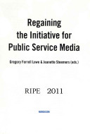 Regaining the Initiative for Public Service Media