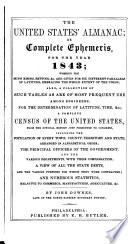 The United States Almanac; Or, Complete Ephemeris ...