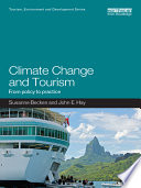 Climate Change And Tourism : consequences of climate change for key tourist...