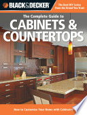 Black   Decker The Complete Guide to Cabinets   Countertops