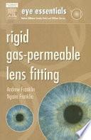 Rigid Gas Permeable Lens Fitting