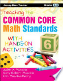 Teaching the Common Core Math Standards with Hands On Activities  Grades K 2
